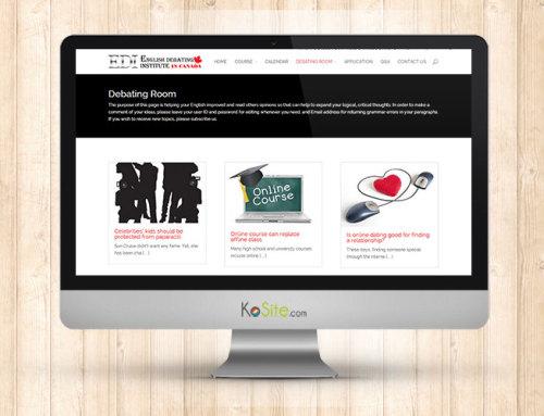 EDI in Canada Website Design
