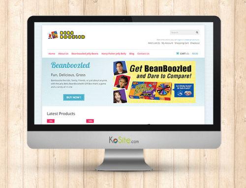 Beanboozled 전자상거래 온라인 쇼핑몰