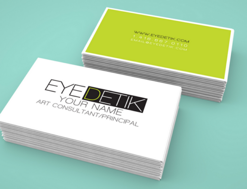 Eyedetik 명함 디자인 & 인쇄