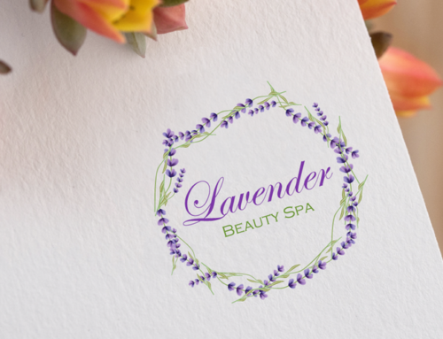 Lavender Beauty Spa Logo Design