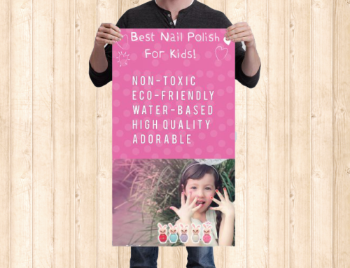 ShuShu Kids Small Banner Design & Print for trade show
