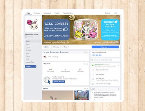 ShuShu Kids Facebook Page