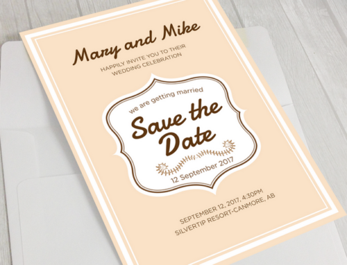 결혼 초대장 디자인 & 인쇄