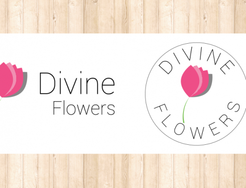 Divine Flowers Logo Design