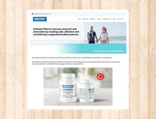 heilenex Pharma 웹사이트 제작