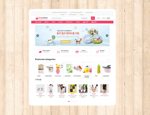 Shopy Korea 온라인 쇼핑몰