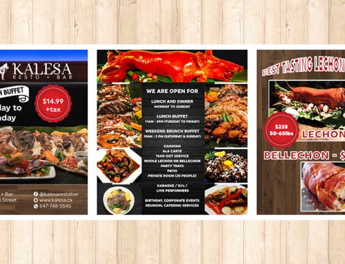 Kalesa 필리핀 식당 배너