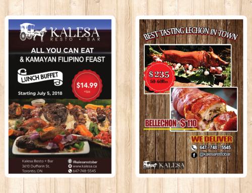 Kalesa 필리핀 식당 포스트카드