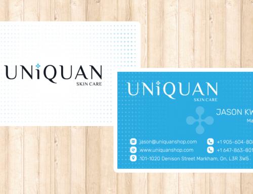 Uniquan 명함 디자인 및 인쇄
