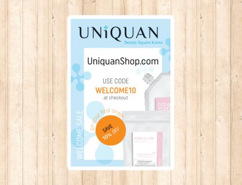 Uniquan 포스트카드, 쿠폰 디자인 및 인쇄